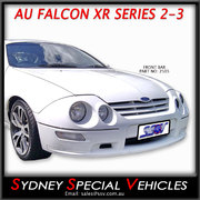 FRONT BUMPER BAR FOR AU XR FALCONS, SERIES 2-3 STYLE