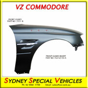 FRONT GUARD FOR VY-VZ COMMODORE - VZ SS STYLE - RIGHT HAND - FLUTED