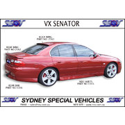 ROOF SPOILER FOR VT VX VY VZ COMMODORE SEDAN