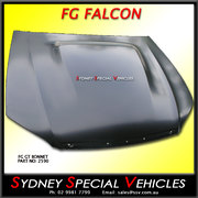BOSS BONNET FOR FG FALCON XR8 / GT STYLE WITH POWER BULGE