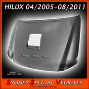BONNET FOR HILUX  04/2005-8/2011 - TURBO STYLE