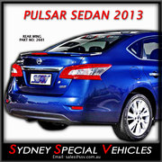 REAR SPOILER FOR NISSAN PULSAR B17 SEDAN 2013-17