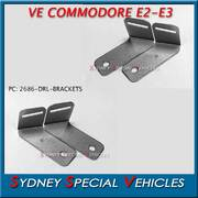 BRACKETS FOR LED DRL LIGHT FOR VE COMMODORE E2 E3 FRONT BAR - LEFT HAND