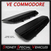 BONNET VENTS FOR VE COMMODORE - E2-E3 STYLE