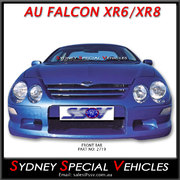 FRONT BUMPER BAR FOR AU XR6 XR8 FALCONS, PURSUIT 250 STYLE