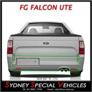 REAR BAR FOR FG FALCON UTE - XR - FPV F6 STYLE