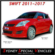 SIDE SKIRTS FOR SWIFT 2011-2017
