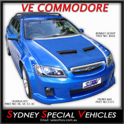 BONNET SCOOP FOR VE COMMODORE -  PONTIAC G8 STYLE