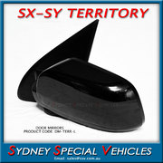 DOOR MIRROR FOR FORD TERRITORY SX SY 2004-11 LEFT HAND NO SENSOR