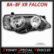 HEADLIGHT FOR BA-BF FALCON XR6 XR8 - FACTORY XR STYLE RIGHT HAND