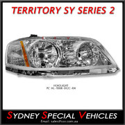 HEADLIGHT FOR TERRITORY 5/2009-4/2011 - RIGHT HAND OR DRIVERS SIDE