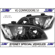 HEADLIGHTS FOR VE COMMODORE SERIES 1 - SS STYLE PAIR