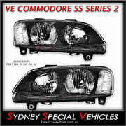HEADLIGHTS FOR VE COMMODORE SERIES 2 - SS STYLE PAIR