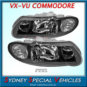 VX VU COMMODORE SS HEADLIGHTS - PAIR OF NEW