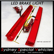 REPLACEMENT LED BRAKE LIGHT FOR REAR WING SPOILER 396 mm long