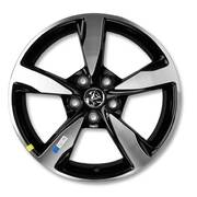 VF SERIES 2 SS MAG WHEELS - 18 x 8 - SET OF 4