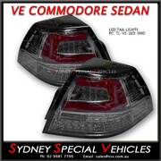 FULL LED TAIL LIGHTS FOR VE COMMODORE SEDAN SMOKED