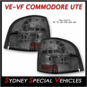 LED TAIL LIGHTS FOR VE COMMODORE UTE - SMOKED LENS