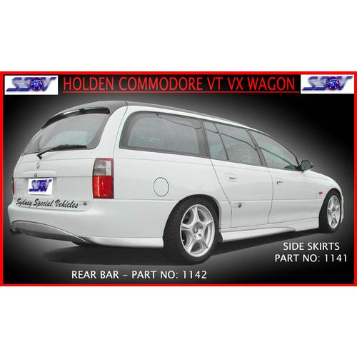 REAR BUMPER BAR FOR VT-VZ COMMODORE WAGON